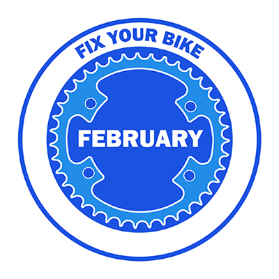 Fix Your Bike February logo